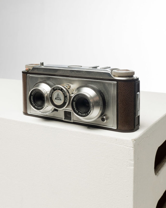 Front view of Stereo Camera