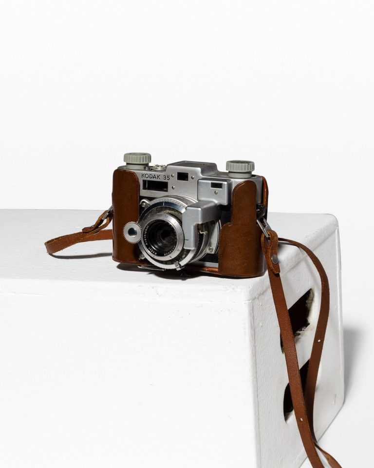 Front view of Kodak 35 Rangefinder Camera