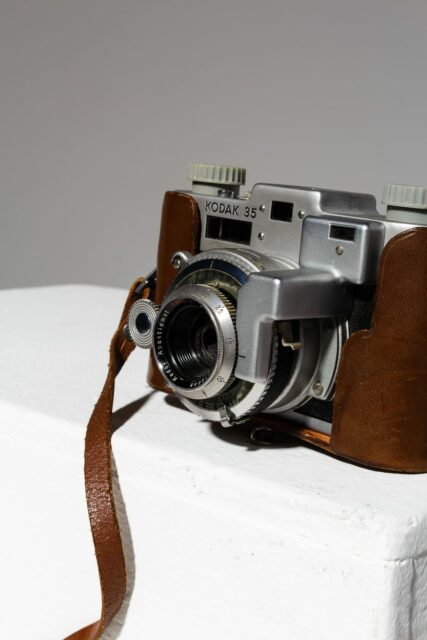 Alternate view 2 of Kodak 35 Rangefinder Camera