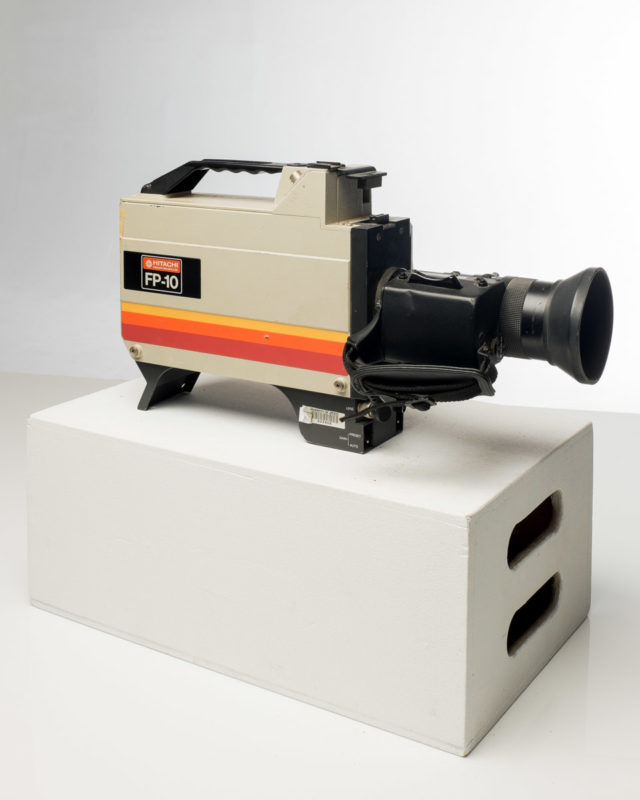 Front view of Hitachi Video Camera