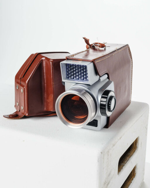 Front view of Kodak Zoom 8 Movie Camera