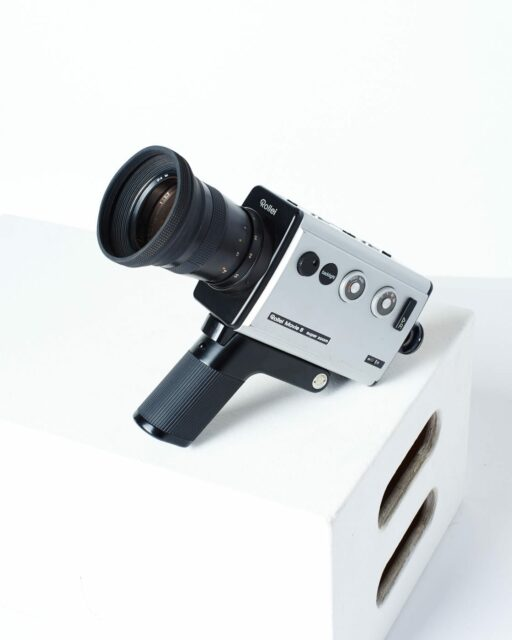 Front view of Rollei Movie 8 Video Camera