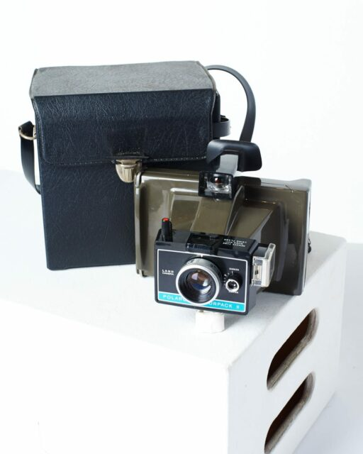 Front view of Polaroid Colorpack II Camera