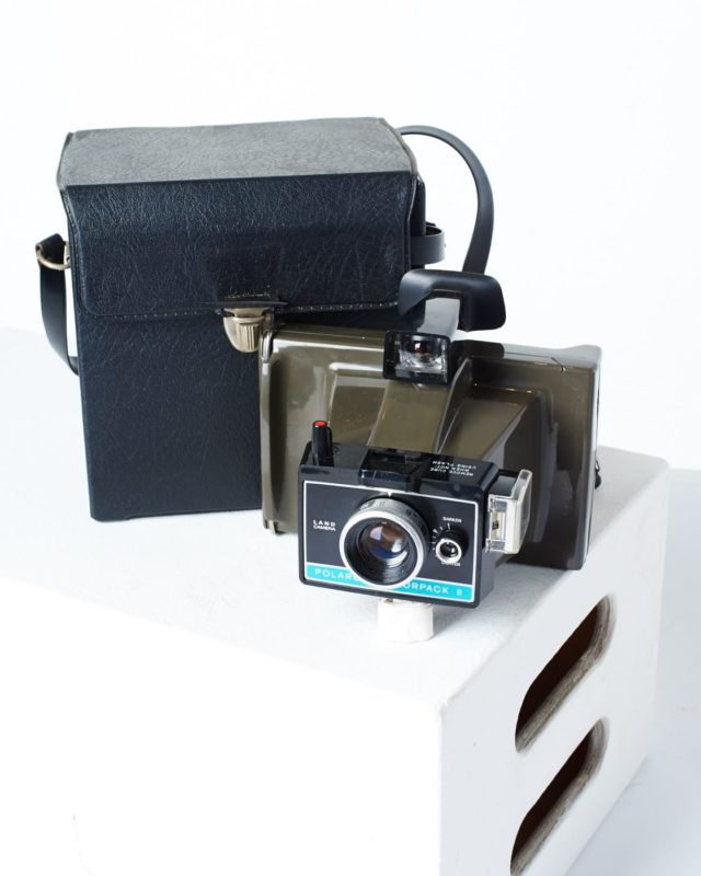 Front view of Polaroid Land Camera