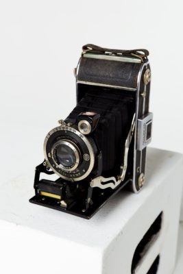 Alternate view 2 of Compur Folding Camera