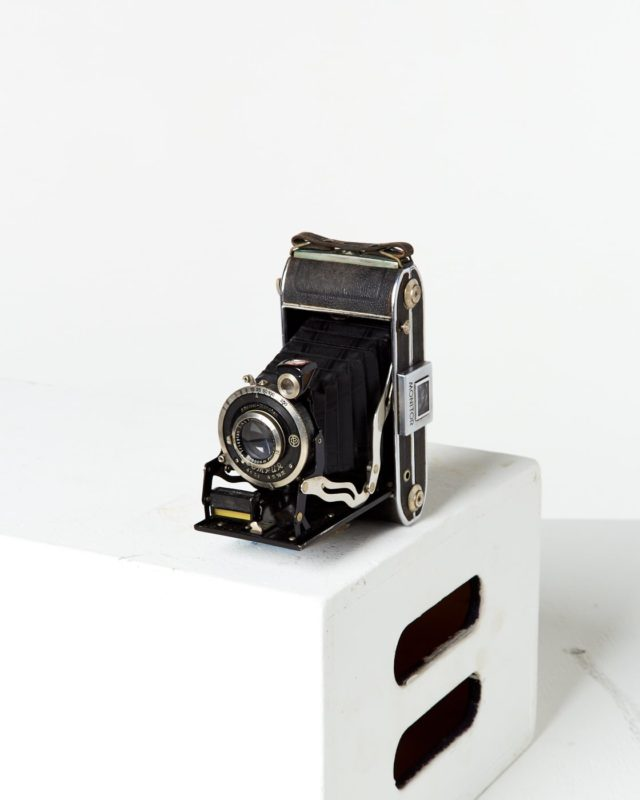 Front view of Compur Folding Camera
