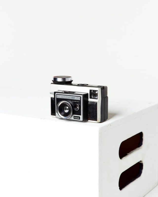 Front view of Kodak Instamatic Camera