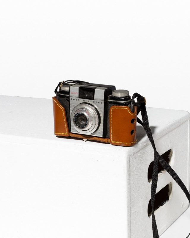 Front view of Kodak Pony II Camera
