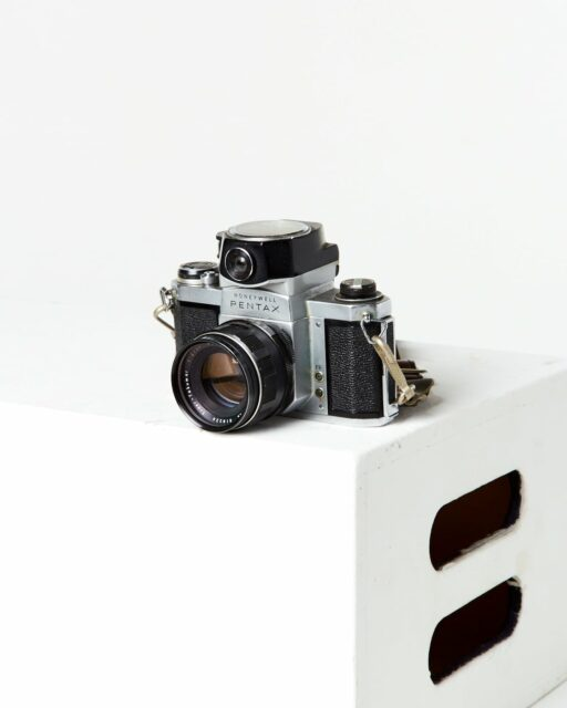 Front view of Pentax Honeywell SLR Camera