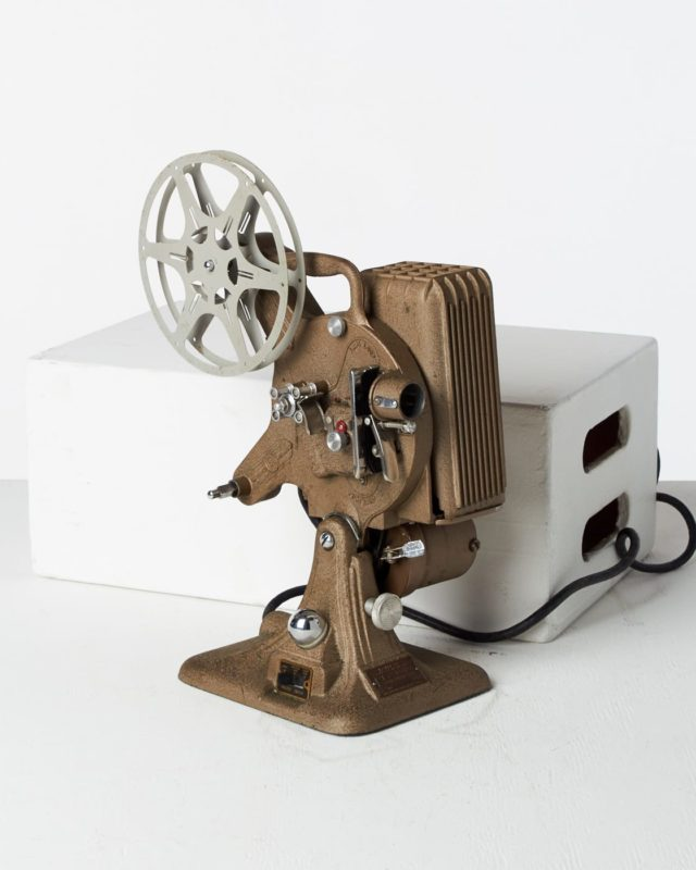 Front view of Keystone 16mm Projector