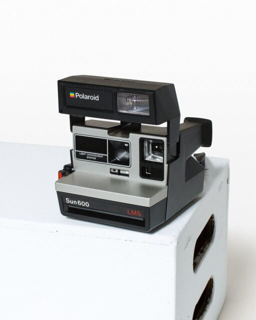 Front view of Polaroid Sun 600 LMS Camera