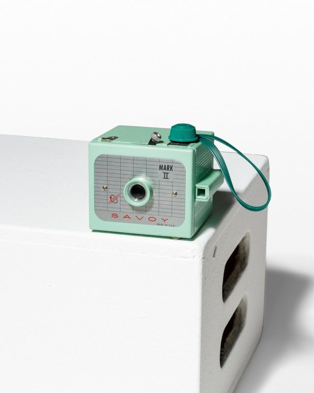 Front view of Savoy Mark II Camera