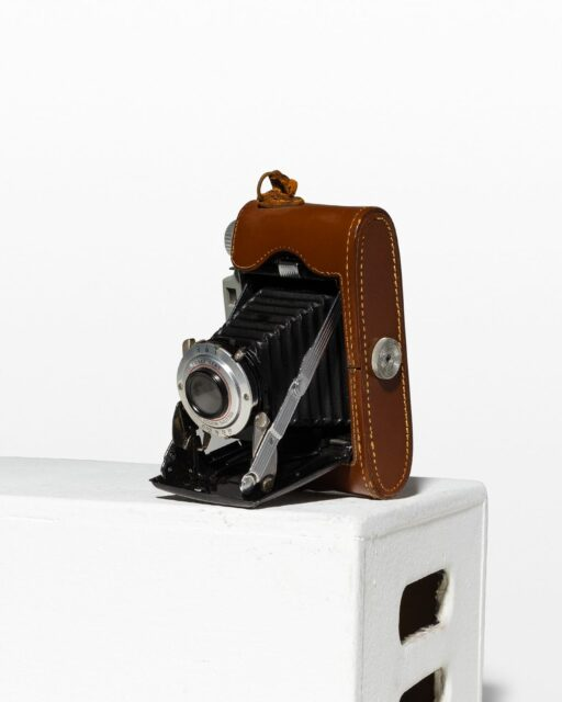 Front view of Kodak II Tourist Accordion Camera