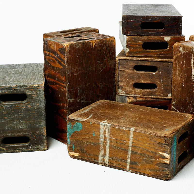 Apple Boxes, Cubes And Crates