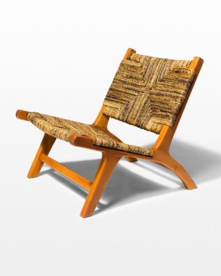 Front view of Manitou Woven Lounge Chair
