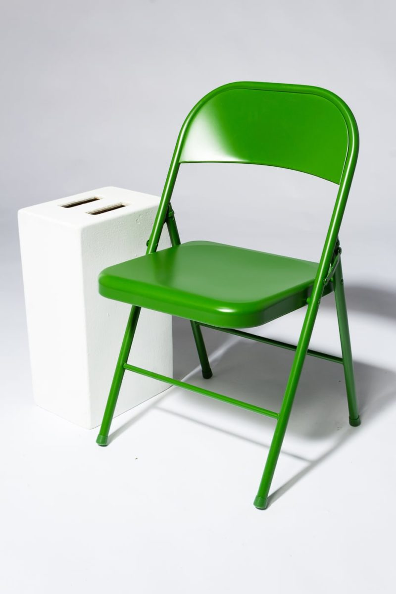 Alternate view 1 of Green Folding Chair