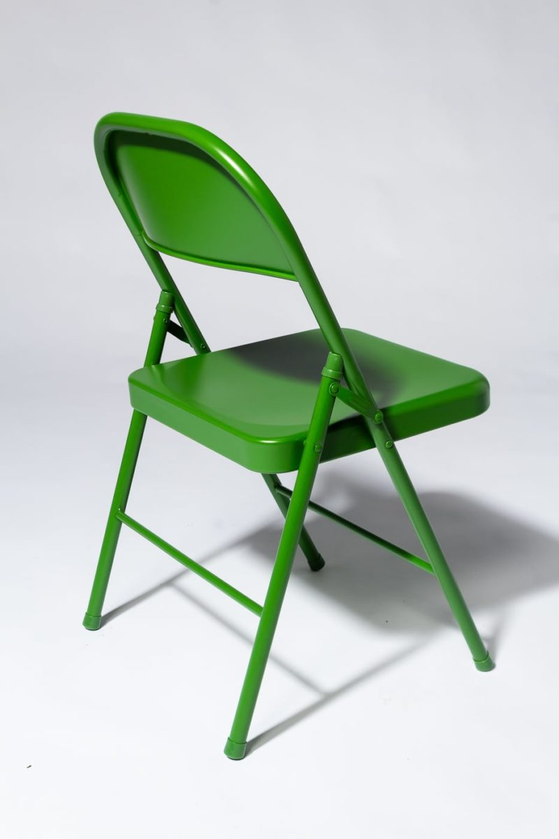 Alternate view 3 of Green Folding Chair