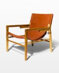 Front view thumbnail of Milton Leather Safari Chair