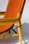 Alternate view thumbnail 5 of Milton Leather Safari Chair