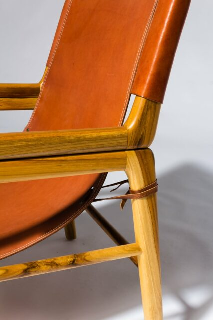 Alternate view 5 of Milton Leather Safari Chair