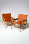 Alternate view thumbnail 4 of Milton Leather Safari Chair