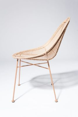 Alternate view 2 of Isla Blush Rattan Chair