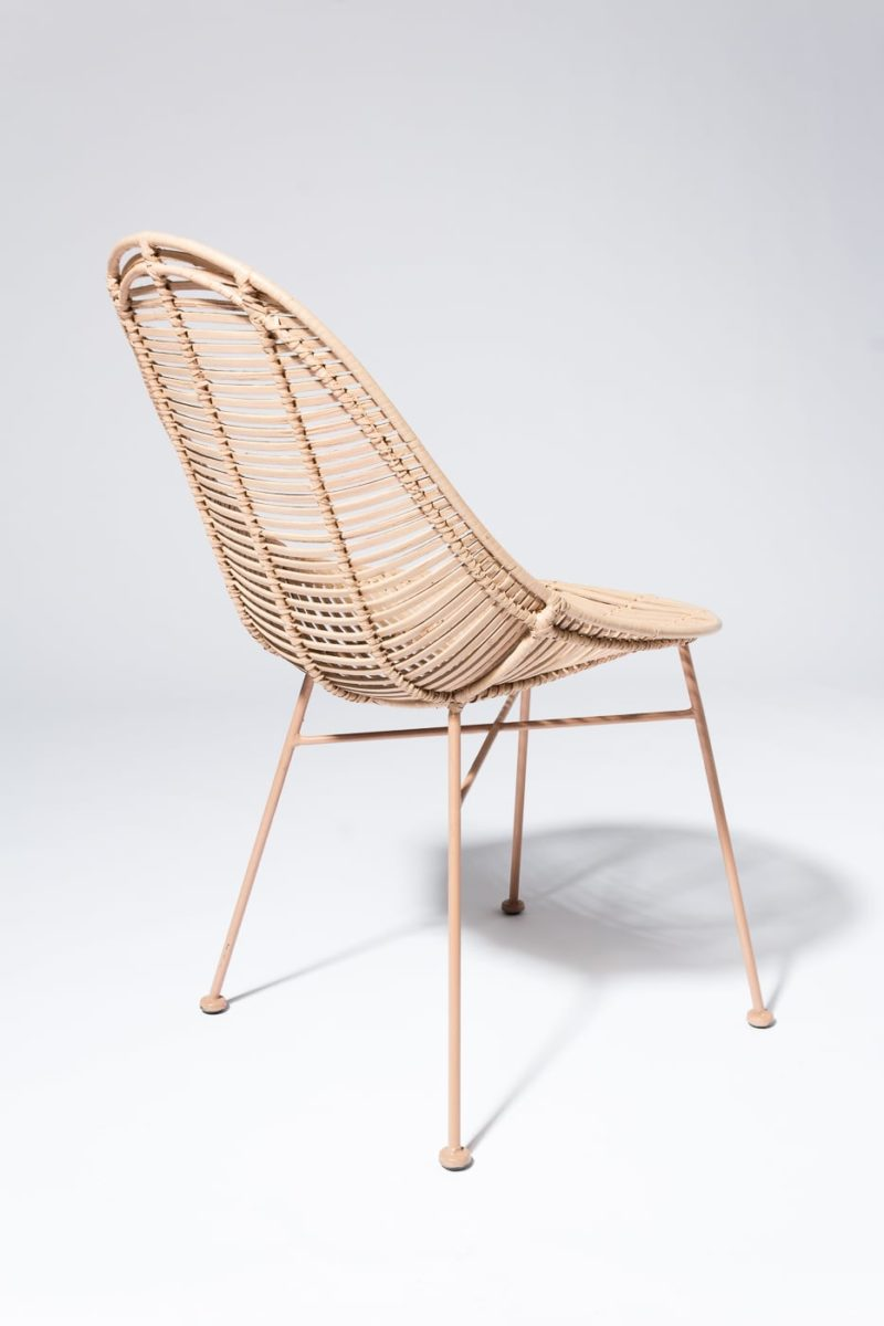 Alternate view 3 of Isla Blush Rattan Chair