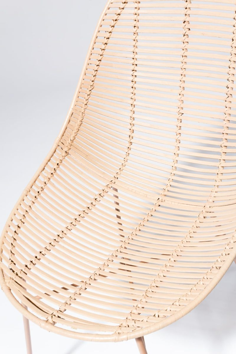 Alternate view 4 of Isla Blush Rattan Chair