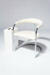 Alternate view thumbnail 1 of Aidan White Cantilever Chair