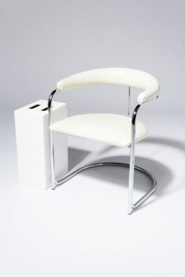 Alternate view 1 of Aidan White Cantilever Chair