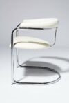 Alternate view thumbnail 2 of Aidan White Cantilever Chair