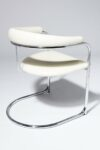 Alternate view thumbnail 3 of Aidan White Cantilever Chair