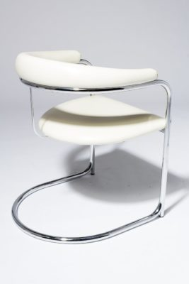 Alternate view 3 of Aidan White Cantilever Chair