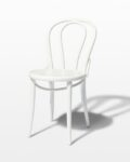 Front view thumbnail of Jonah White Cafe Chair