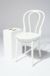 Alternate view thumbnail 1 of Jonah White Cafe Chair