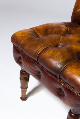 Alternate view 5 of Aiden Brown Leather Chair