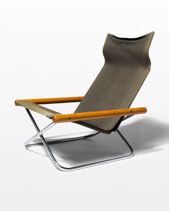 Front view of Jax Folding Canvas Sling Chair