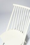 Alternate view thumbnail 4 of Moto White Spindle Chair