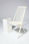 Alternate view thumbnail 1 of Moto White Spindle Chair