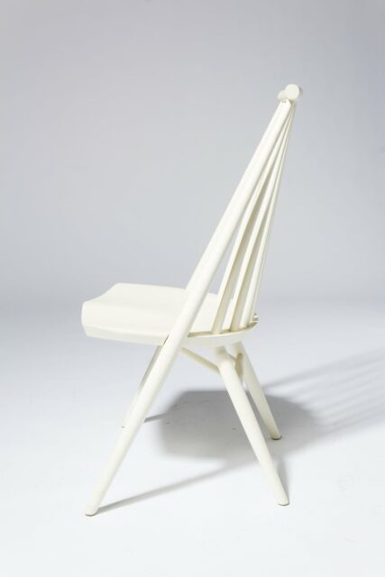 Alternate view 2 of Moto White Spindle Chair