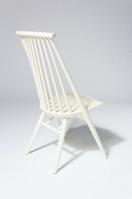 Alternate view 3 of Moto White Spindle Chair