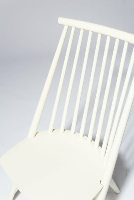 Alternate view 4 of Moto White Spindle Chair