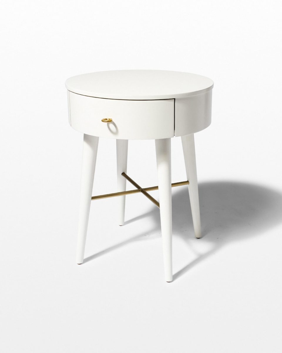 Front view of Lark Side Table Nightstand