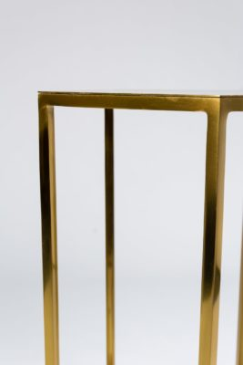 Alternate view 4 of Guthrie Gold Pedestal Table