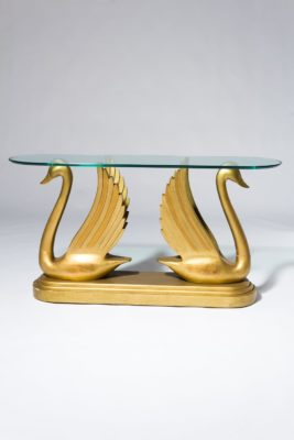 Alternate view 3 of Gold Swan Console Table