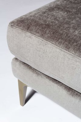 Alternate view 4 of Greybar Velvet Bench
