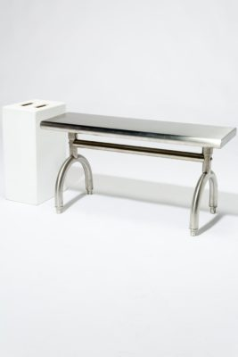 Alternate view 2 of Arch Stainless Steel Bench