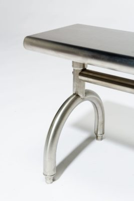 Alternate view 1 of Arch Stainless Steel Bench