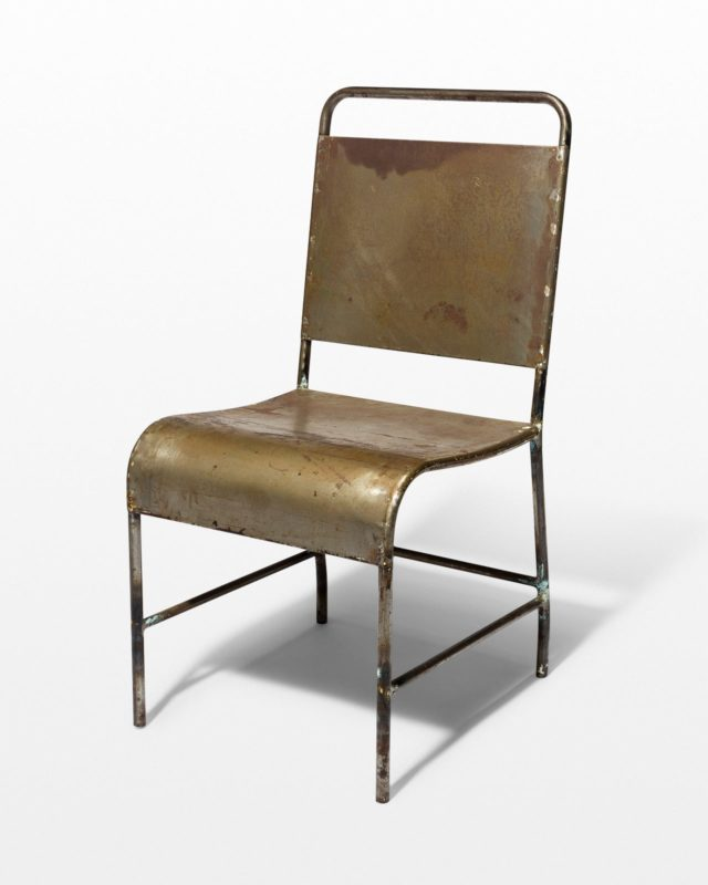 Front view of Dram Metal Chair