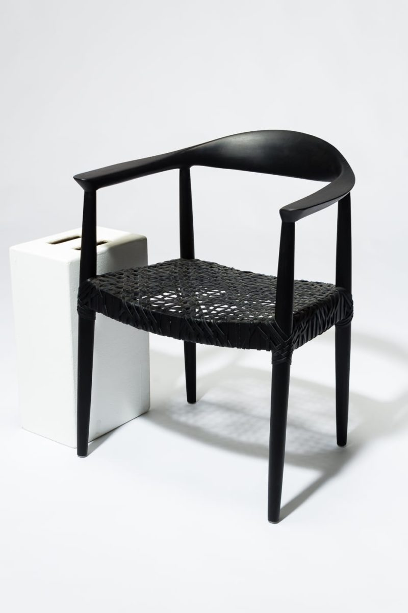 Alternate view 2 of Moore Black Chair